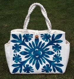 ハワイアンキルトバッグ