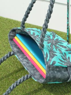 ハワイアンキルトバッグ シェードパラパライ